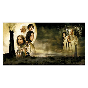 Lord of the Rings. Размер: 110 х 60 см